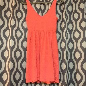 Everly Tank Top Coral Dress